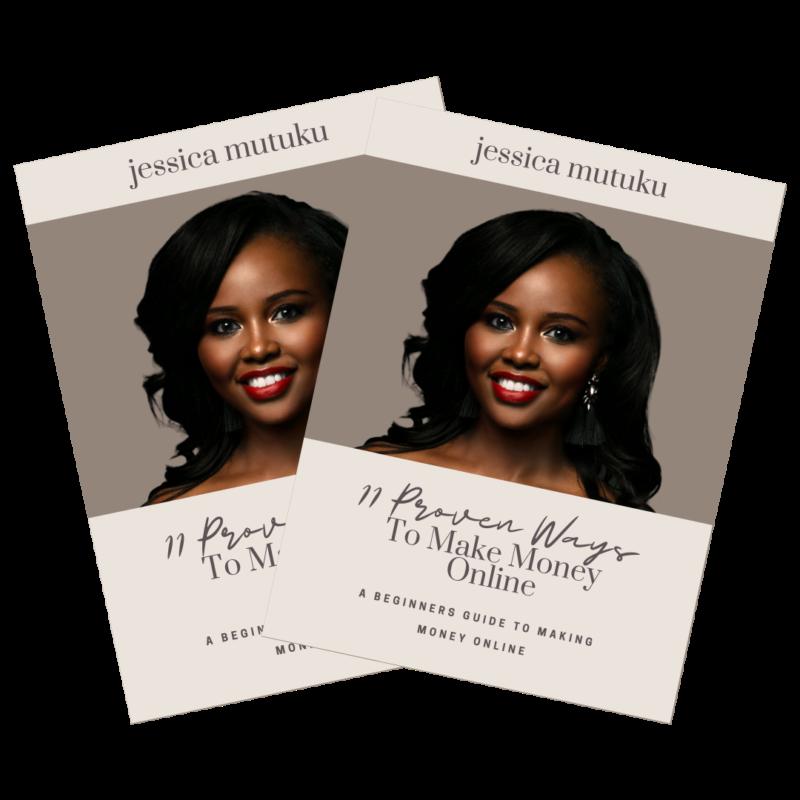 11 Ways To Make Money Online - Jessica Mutuku